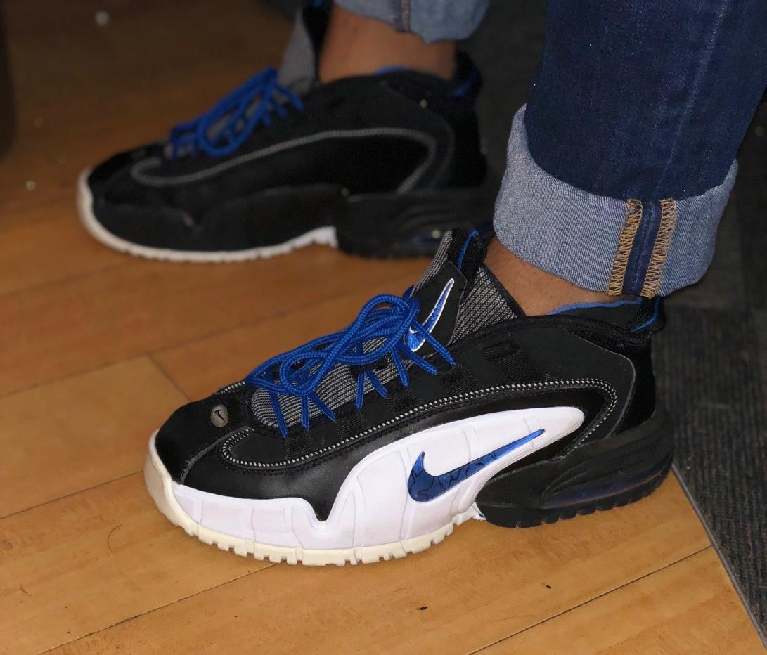 purchase cheap 3a3a7 4fcdb Nike Air Max Penny 1  Orlando  (2011). IMG-0925. Penny Hardaway kicks.